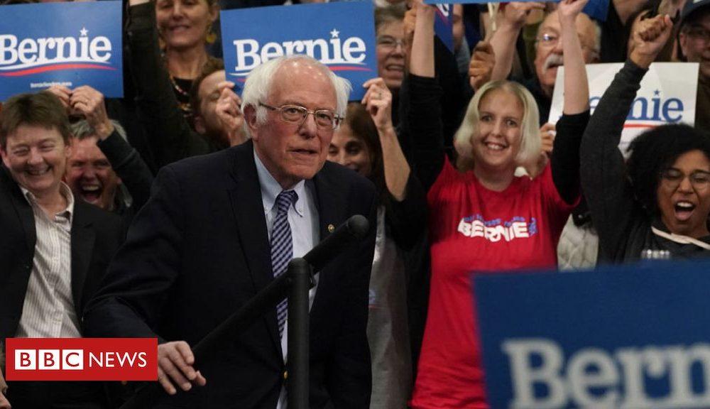 Bernie Sanders New Hampshire primary: Bernie Sanders narrowly beats Pete Buttigieg