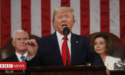 Donald Trump Trump hails 'American comeback' in Congress speech